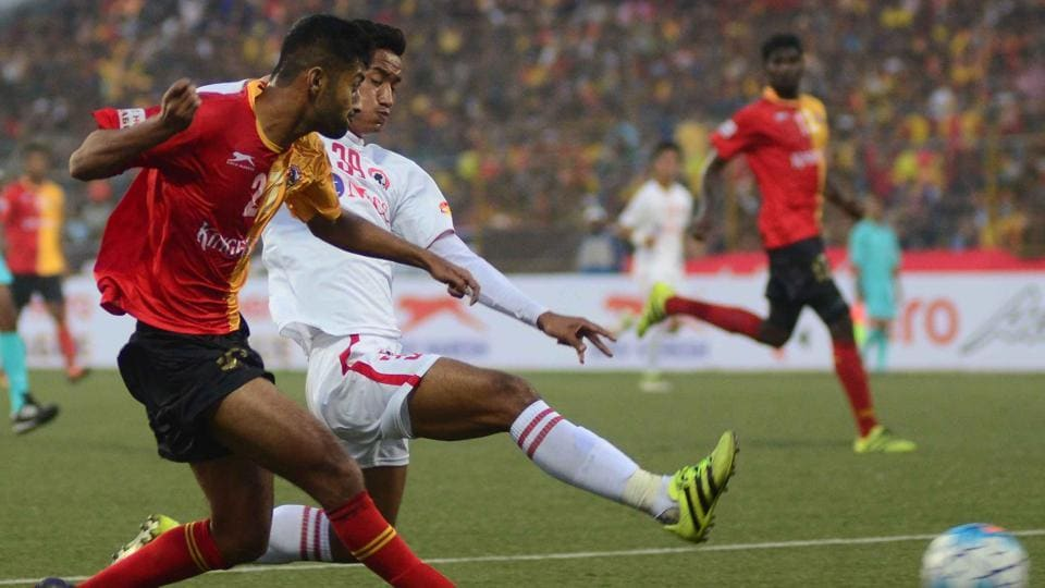 East Bengal F.C. drew with Aizawl F.C. in the I-League encounter in Barasat.
