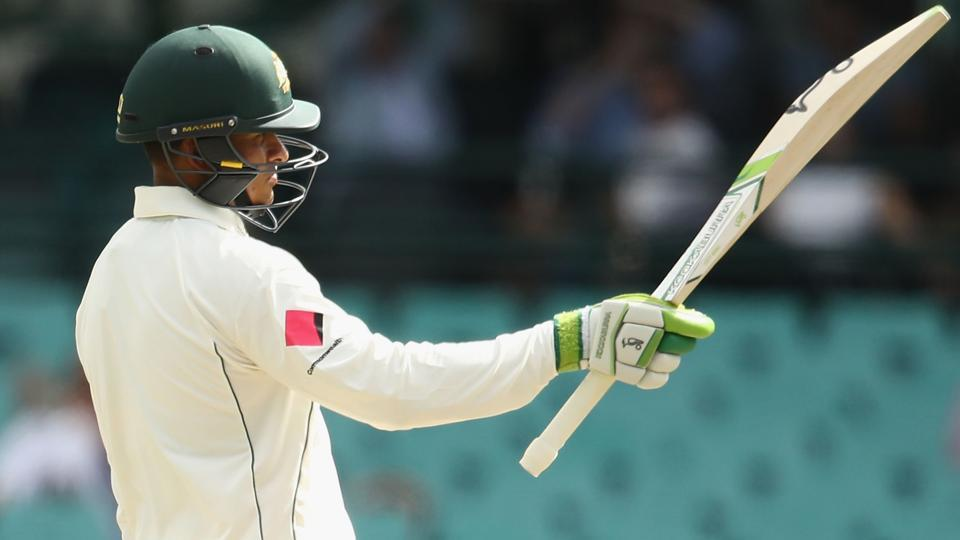 Usman Khawaja celebrated his fifty with a dab during the third Test between Australia and Pakistan in Sydney and the manner of his celebration has created some controversy.