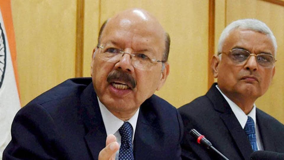 Chief Election Commissioner Nasim Zaidi has written to cabinet secretary PK Sinha who is likely to consult the parliamentary affairs ministry before framing his response on the government's plans to advance the budget presentation to February 1, sources said.