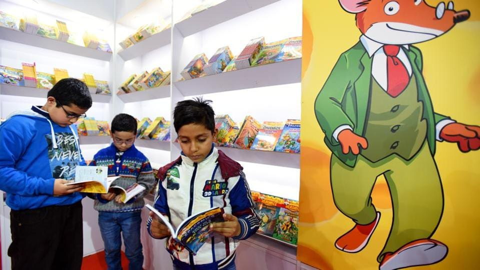 This year, about 20 countries along with their delegates are participating in the fortnight-long celebration of literature. (Virendra Singh Gosain/HT PHOTO)