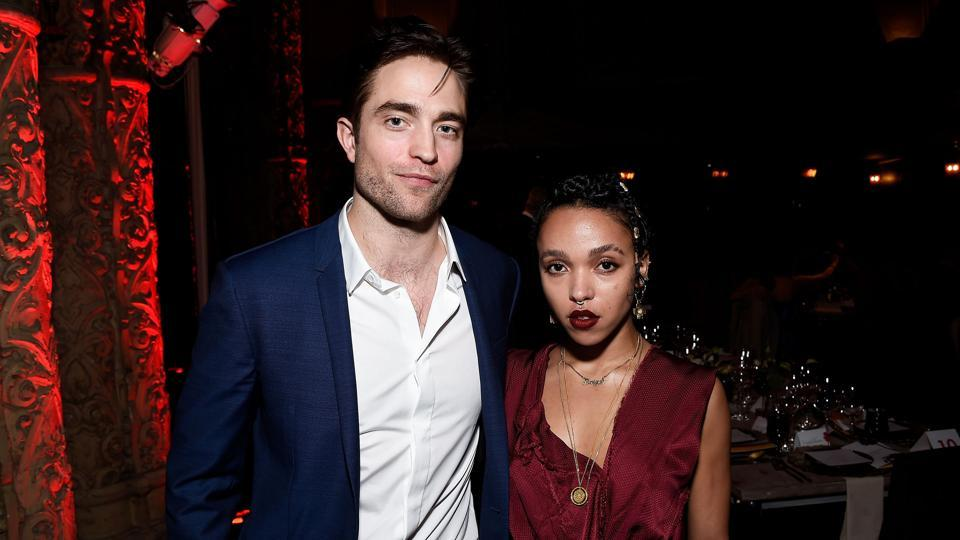 Actor Robert Pattinson and singer-songwriter FKA Twigs attend the LA Dance Annual Gala at The Theatre at Ace Hotel on December 10, 2016.