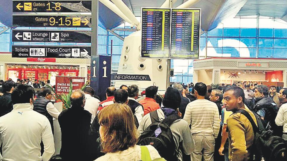 A 34-year-old man who travelled by flights and trains to steal from fellow passengers was caught after he used credit cards stolen from a flier at Delhi's Indira Gandhi International Airport to buy 16 perfume bottles worth Rs 1.3 lakh at a duty-free shop