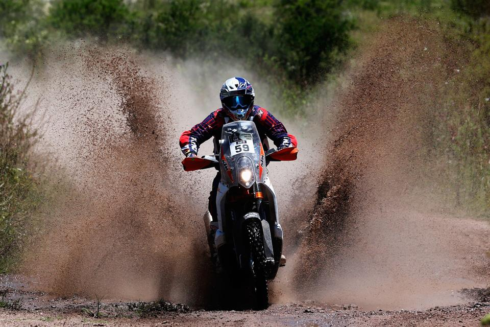 CSSantosh will be aiming for a better show in the seventh stage of the Dakar Rally.