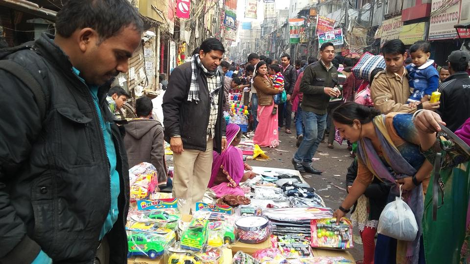 These traders say that their customers neither have credit/debit cards nor they use smartphones.