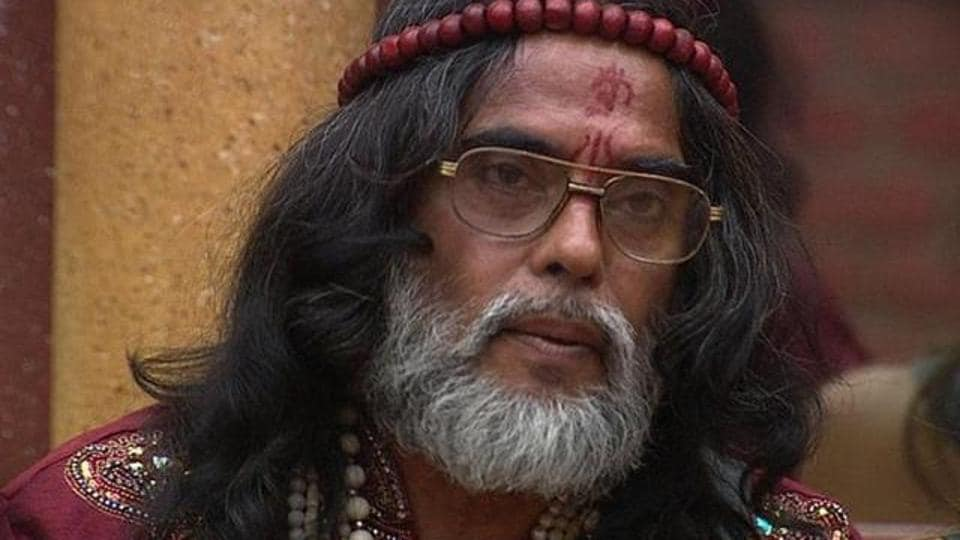 Om Swami was removed from the Bigg Boss house for unacceptable behaviour.