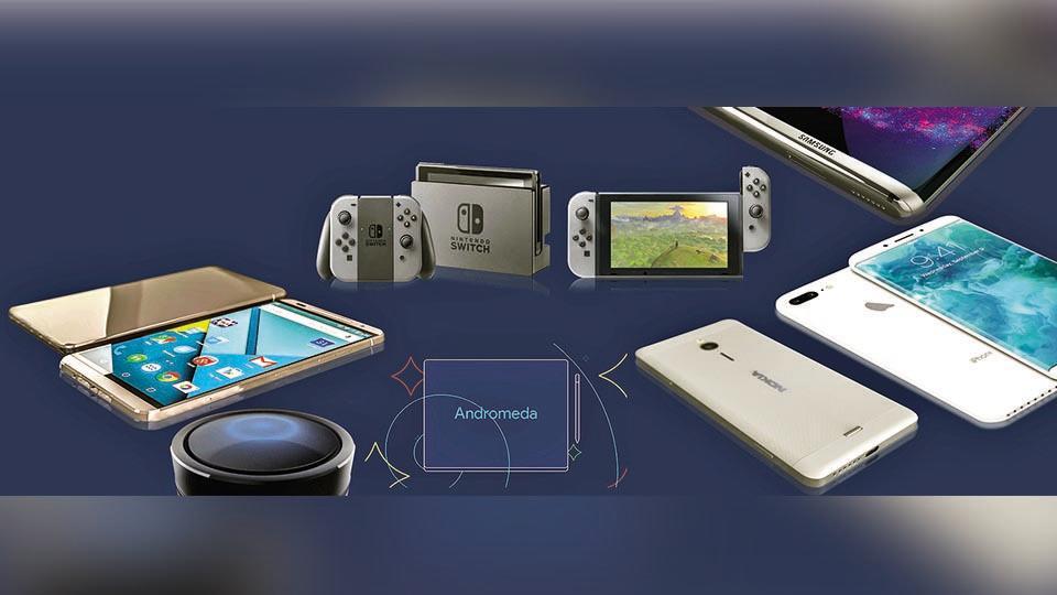 Nokia P1,Google Pixel Notebook,iPhone 10