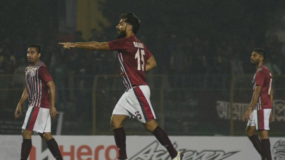 Balwant Singh scored for Mohun Bagan A.C. as they defeated Churchill Brothers in the I-League encounter.