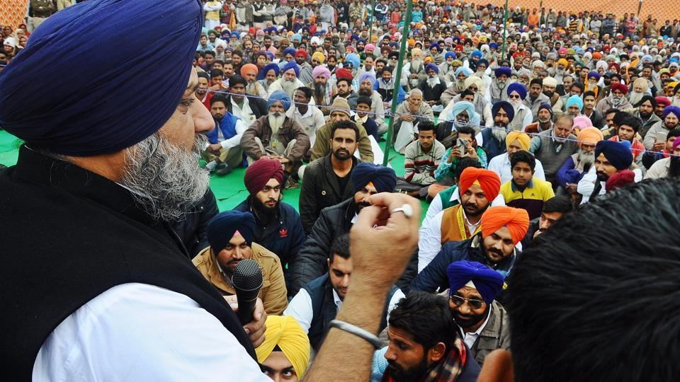 Sukhbir Singh Badal began his election campaign by addressing rallies on Sunday in Jalalabad