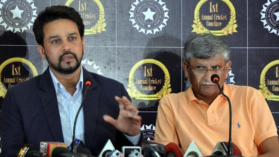 Once the Lodha Committee recommendations are implemented, the BCCI and state unit office-bearers will have to be elected. When that happens, NSrinivasan, Sharad Pawar, Anurag Thakur and Ajay Shrike (in pic) will be looking to fight as one group.