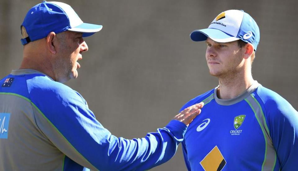 "Australia cricket team coach Darren Lehmann (left) and captain Steve Smith will have to mentally prepare their players for a ""grinding"" tour of India starting next month."