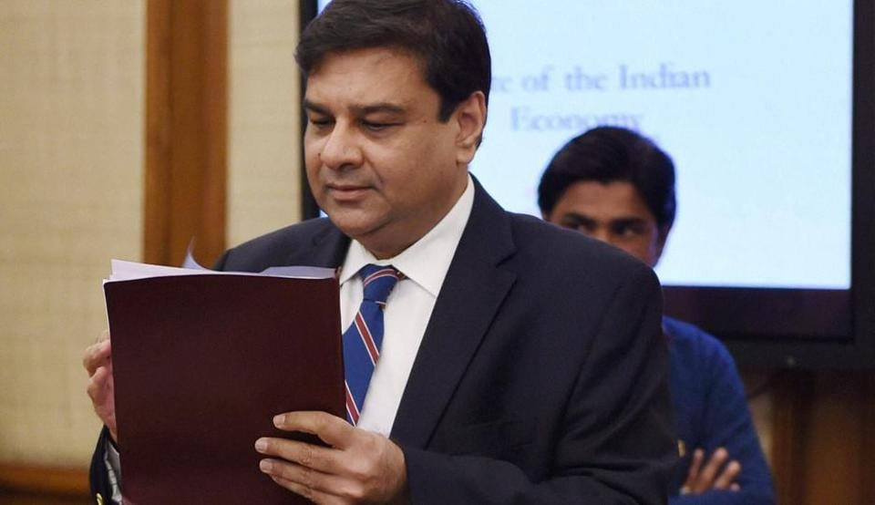 RBI governor Urjit Patel at the Financial Stability and Development Council (FSDC) meeting at North Block in New Delhi,