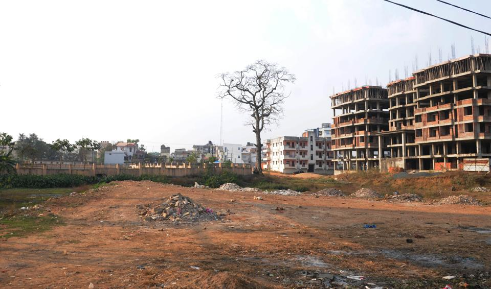 Ponds and water bodies in Ranchi are fast vanishing due unregulated constructions and overuse of groundwater. A dried up pond in the city's   Argora nighbourhood.