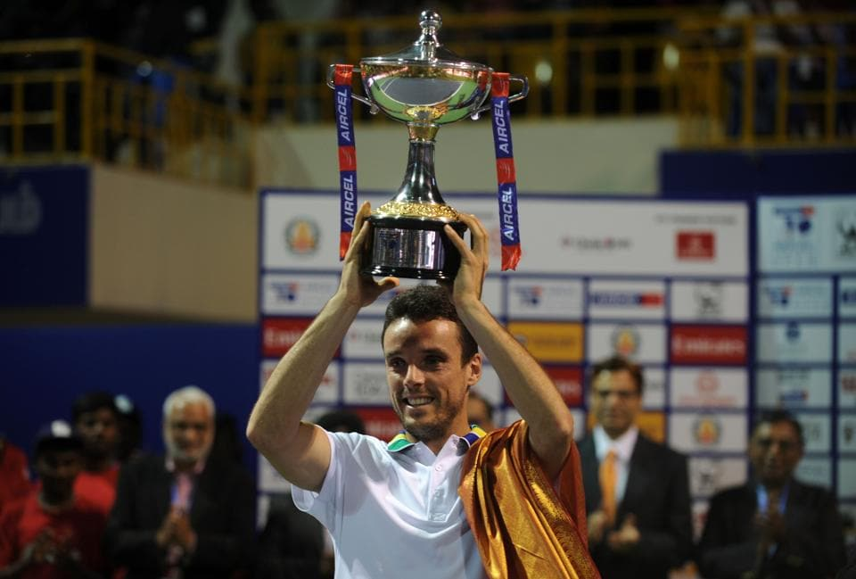 Roberto Bautista Agut kicked off the new ATP season in style after beating Daniil Medvedev on Sunday to win his first Chennai Open title.