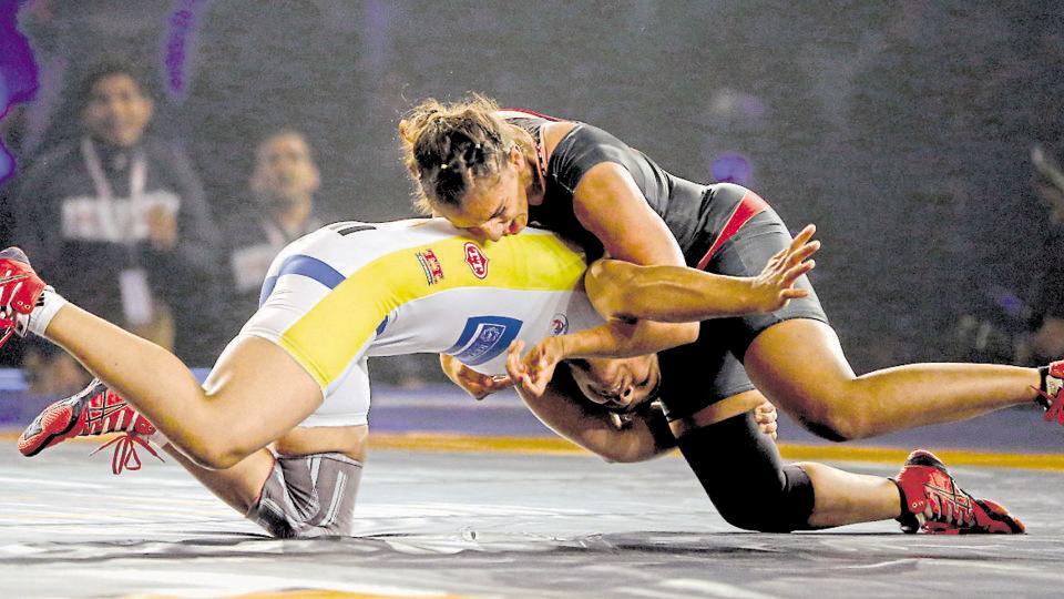 Geeta Phogat,Babita Phogat,Pro Wrestling League