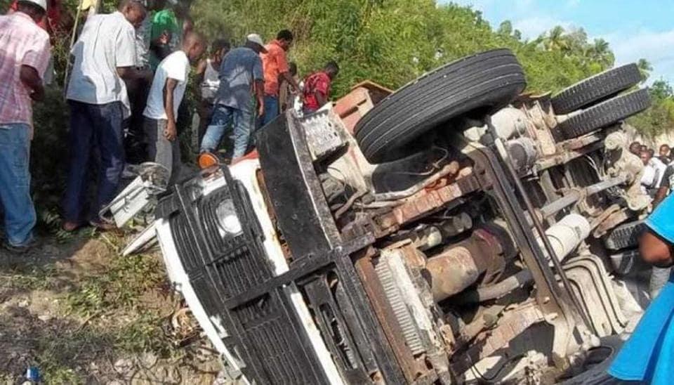 Bus accident,Death toll,Haiti
