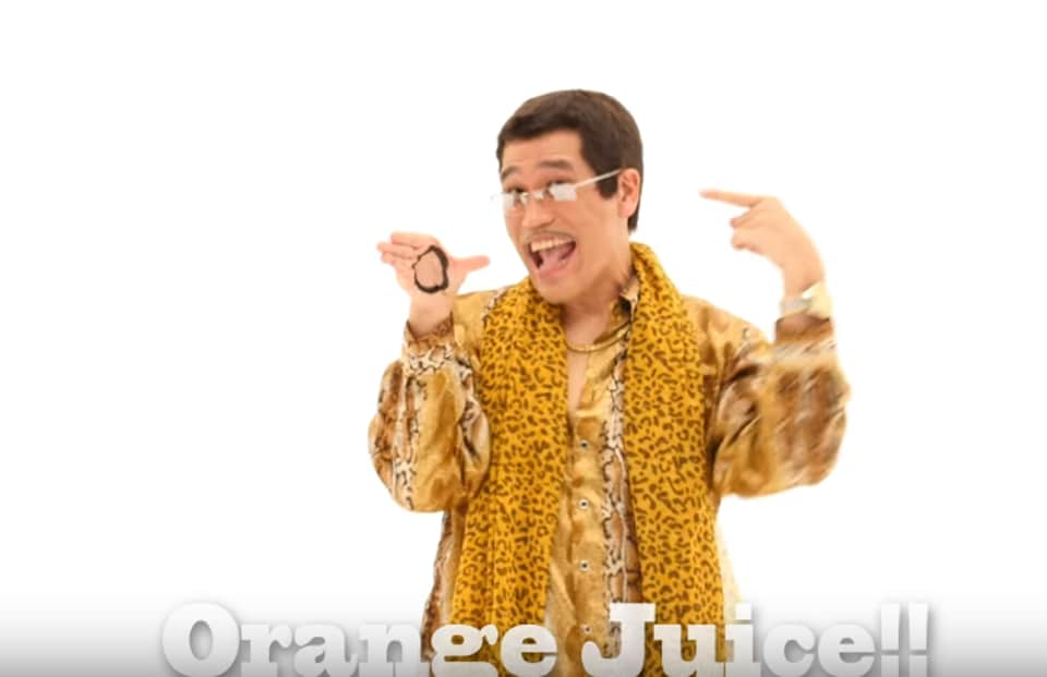 Japanese singer Kosaka Daimaou (Piko Taro), who took social media by storm with his Pen Pineapple Apple Pen video in 2016, has started off the new year on a funny note