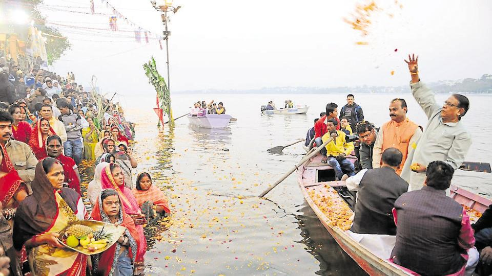 The Upper Lake or Bhojtal is a major source of drinking water for the residents of Bhopal.