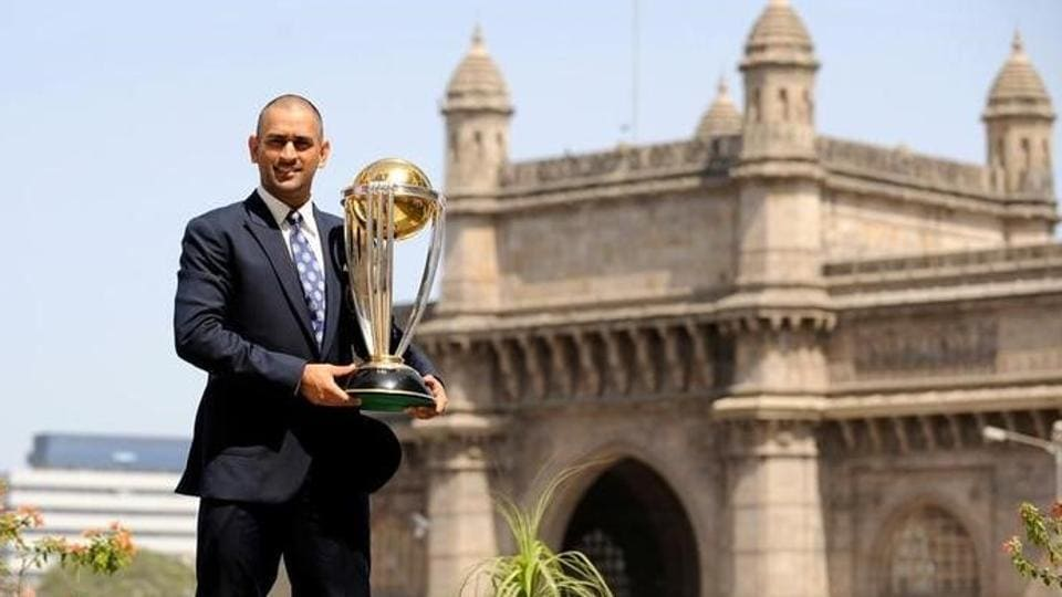 MS Dhoni has authored many audacious moves on the field,where field placements or bowling changes appeared whims of an undecipherable mind till they resulted in grand success, the biggest of them being two World Cups, the ICCWorld T20 in 2007 and the ICCODI World Cup (in pic) in 2011.