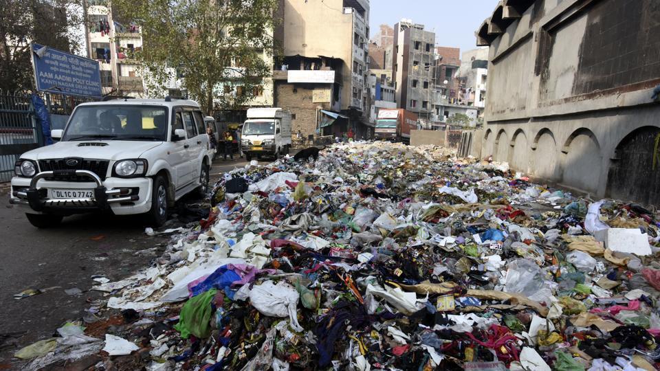 Delhi garbage strike
