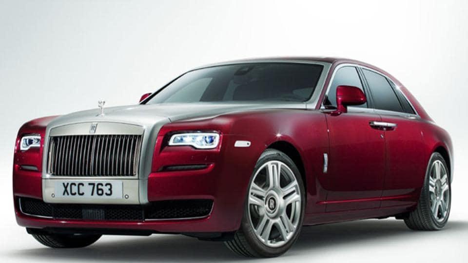 Rolls-Royce Ghost Series II car.