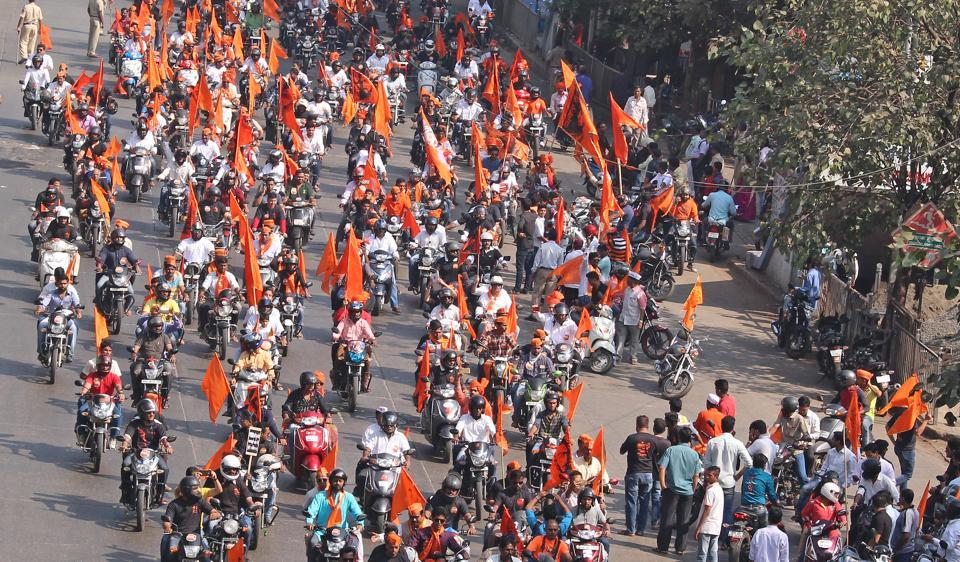 Members from Maratha community had organised a protest rally from Somaiya College to CST in November 2016.
