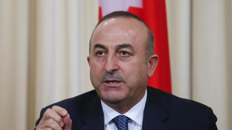 "Turkish Foreign Minister Mevlut Cavusoglu said  he wanted more chapters in the accession talks to be opened ""by lifting artificial obstacles to our EU membership"""