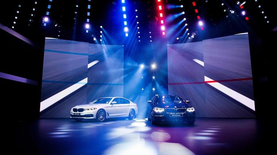 Fancy luxury sedans and small sport utility vehicles stole the show at the ongoing 2017 North American International Auto Show in Detroit. (AFP)