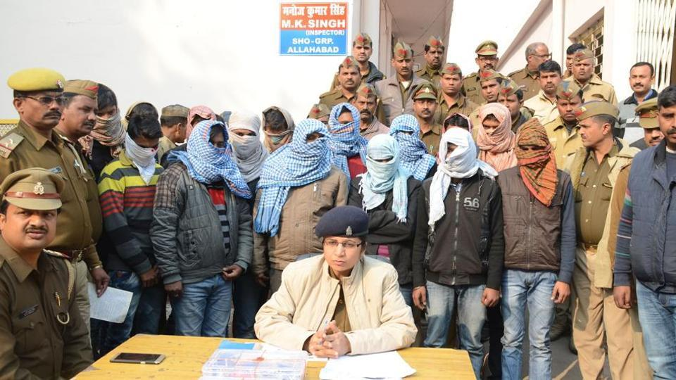 Allahabad police,GPS devices,solver racket