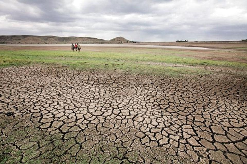 Tamil Nadu chief minister O Panneerselvam declared  the entire state as drought-hit on Jan. 10, 2016.