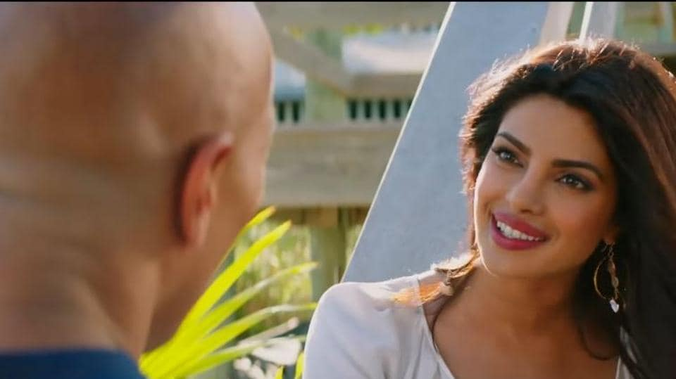 Priyanka Chopra plays Victoria Leeds in Dwayne Johnson-starrer Baywatch.