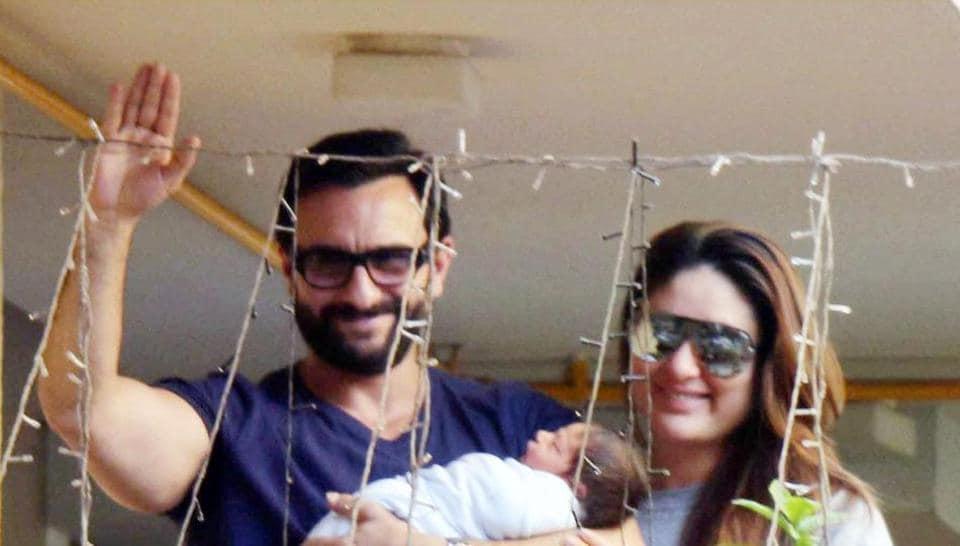 Saif Ali Khan and Kareena Kapoor became proud parents of Taimur on December 20, 2016.