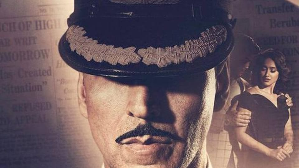 Akshay played a naval oficer in Rustom.