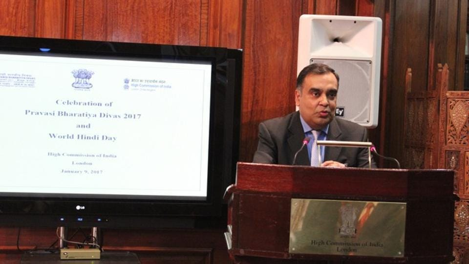 Indian high commissioner,YK Sinha,Indians in Britain