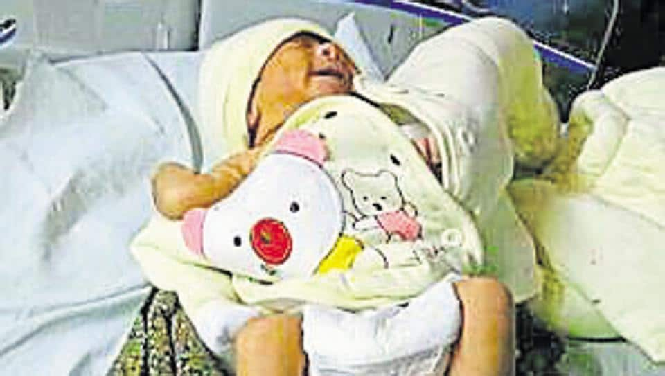 Five families from Gurgaon and Manesar had come forward to adopt a two-day-old abandoned baby girl (above) near Shikohpur village and contacted the media and civic authorities for the same, but official procedures are proving a hindrance  for  both the seekers as well as babies.
