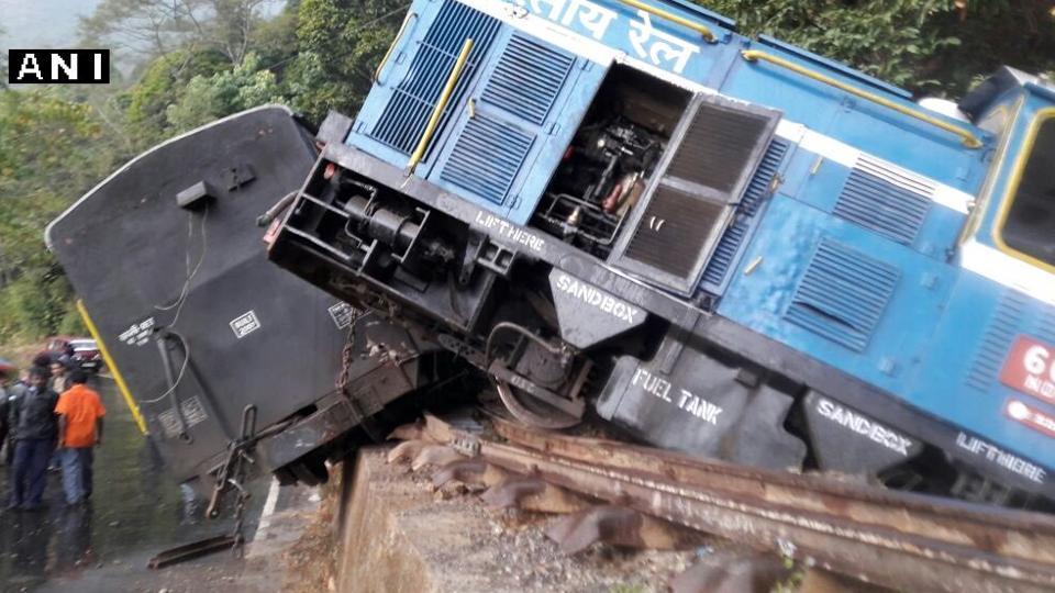 Toy train,Darjeeling Toy Train,Heavy rainfall