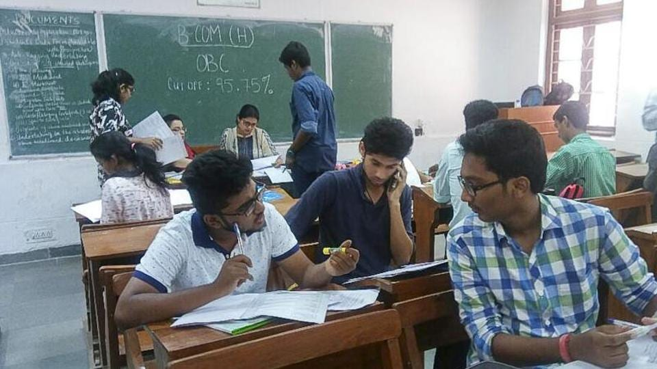 Delhi University's prestigious Sri Ram College of Commerce (SRCC) will go cashless from Wednesday for various transactions ranging from fee submission to payments at the canteen.