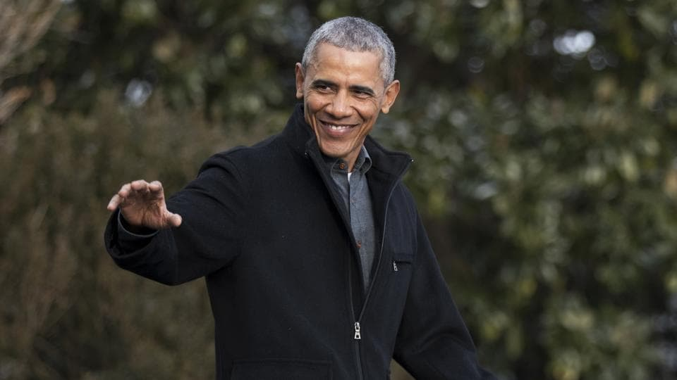 President Barack Obama waves as he leaves the White House in Washington.