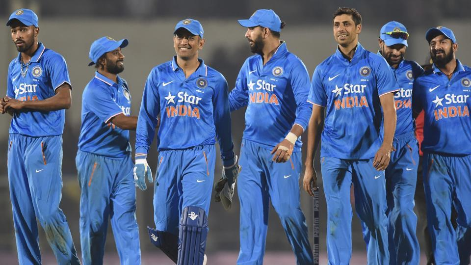 Mahendra Singh Dhoni had a magnificent time with the bat but his captaincy swansong ended with a three-wicket defeat to England in the warm-up game at Brabourne stadium.