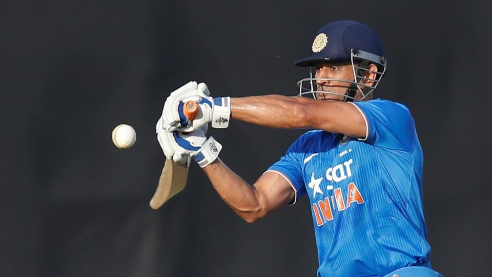 MSDhoni blasted 68 off 40 balls while Yuvraj Singh smashed 56 off 48 balls to help India A to 304/5 vs England in Brabourne.
