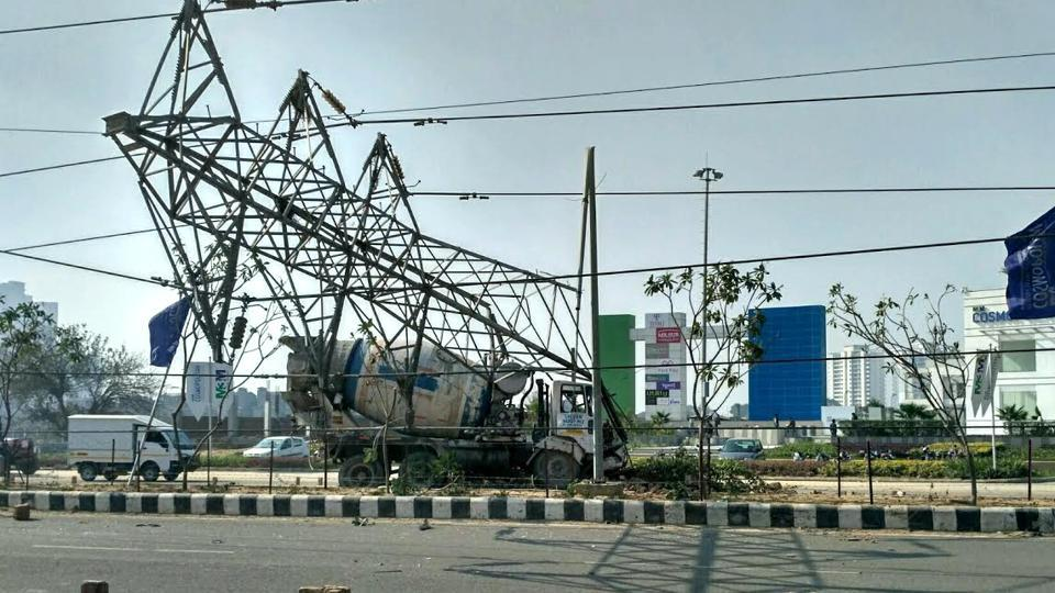Gurgaon,outage,power infrastructure