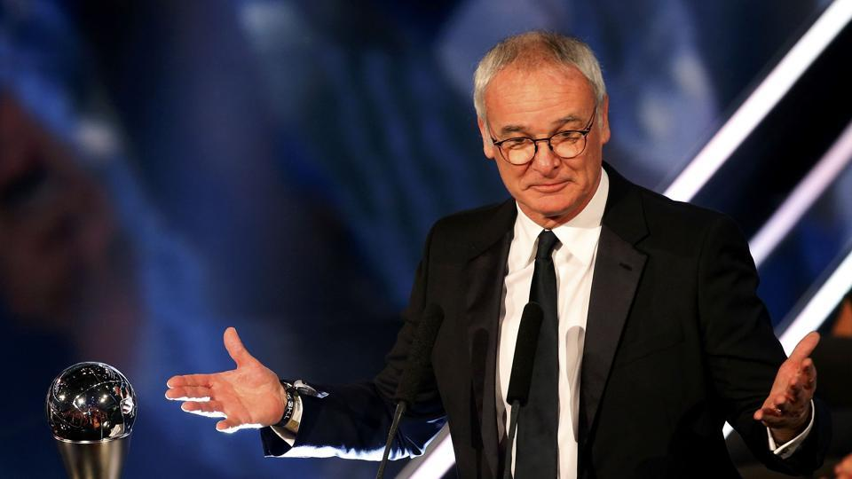 Claudio Ranieri won the best coach of the year award for his magnificent work at Leicester City. (REUTERS)