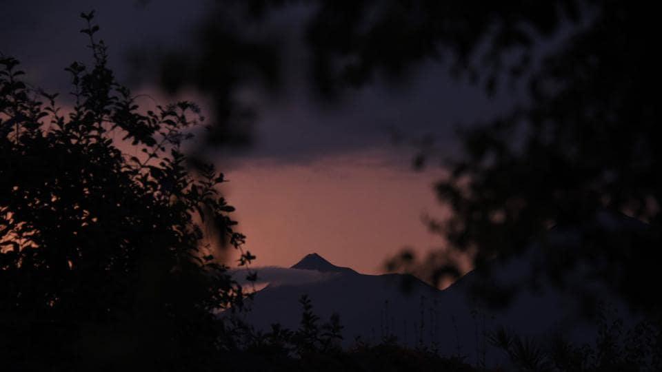 Guatemala volcano,Acatenango,Acatenango volcano