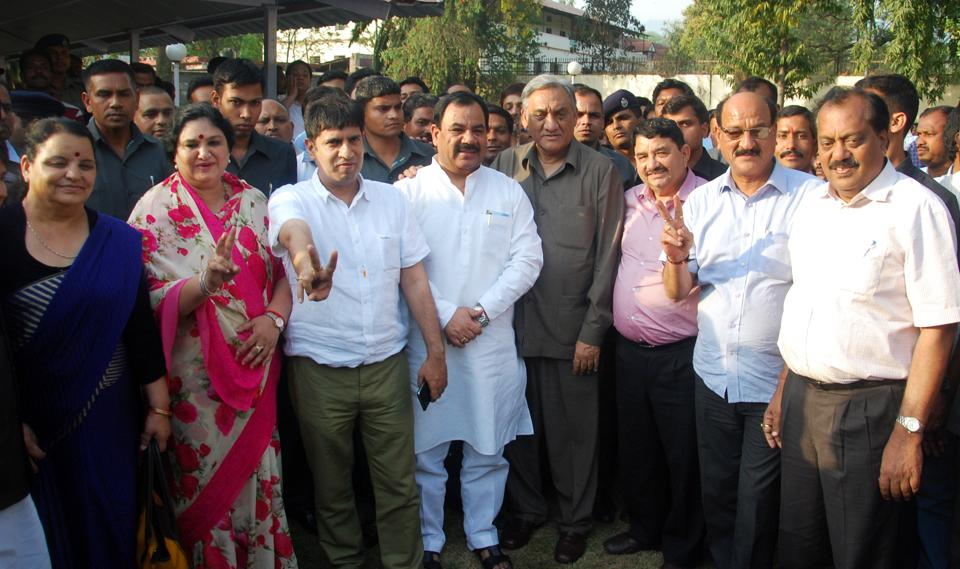 Many former Congress leaders, including  Pradeep Batra, joined BJP and have got tickets.