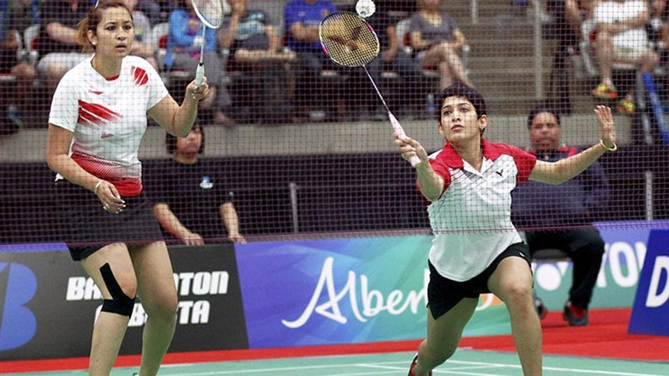 India's Jwala Gutta (left) also laments the fact that there is no bench strength in the doubles circuit after she and Ashwini Ponappa (right) recently split. They formed a formidable pair till now.