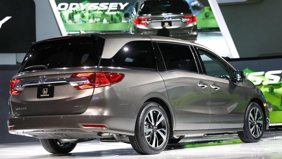 Just in time for millennials starting to have the baby boom generation's grandchildren, Honda Motor Co debuted a new generation of its minivan, the 2018 Honda Odyssey. (AFP)