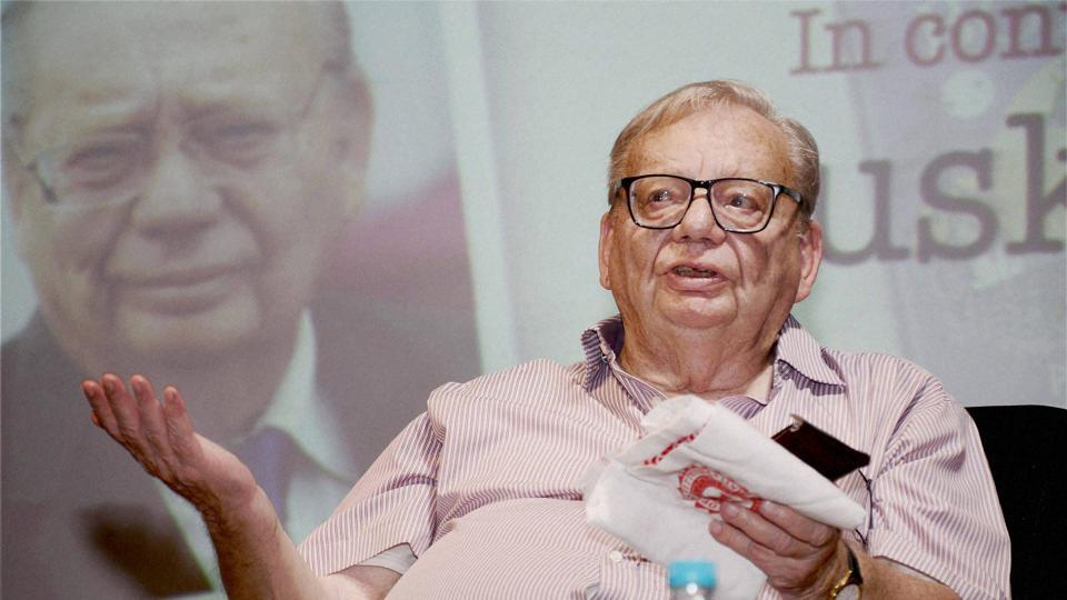 Renowned author Ruskin Bond says there's no great deal of difference between different parties, except for some ideological differences that they have.