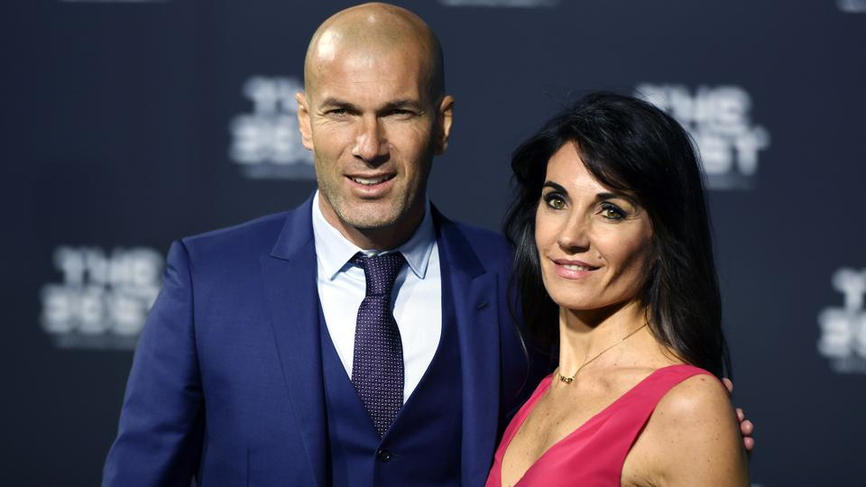 The top players and coaches arrived for The Best FIFA Football Awards in Zurich. Zidane, the current coach of Real Madrid, was favourite to win the best coach award. (AP)