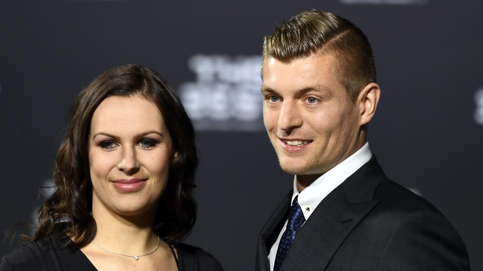 Toni Kroos, whose year has been plagued by injuries, was also present for the FIFA awards. (AP)