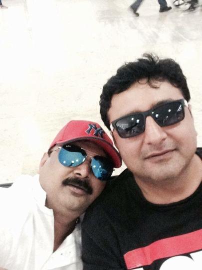 Rathod (left) and Jai Mukhi