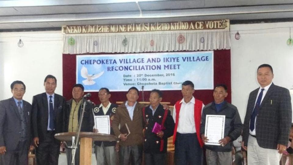 A reconciliation meeting was held at Chepoketa Baptist church on December 20.